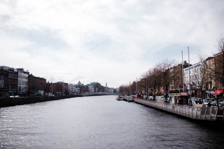 The River Liffey.