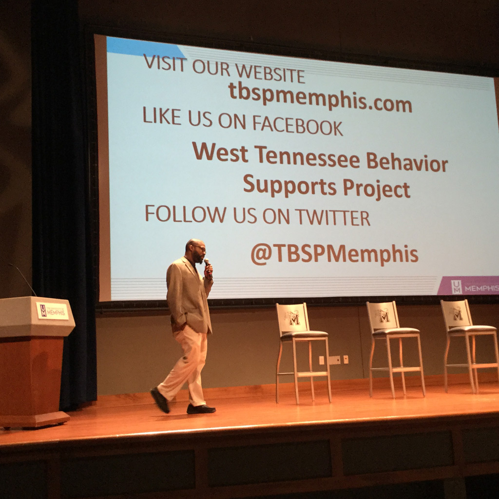 West Tennessee Behavior Supports Project Principal Investigator Dr. Will Hunter welcomed participants on behalf of the grant.