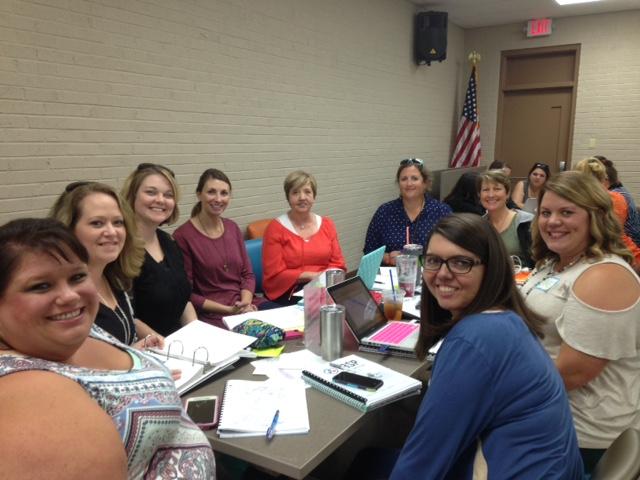 Newbern Elementary Leadership Team with principal Betty Jackson
