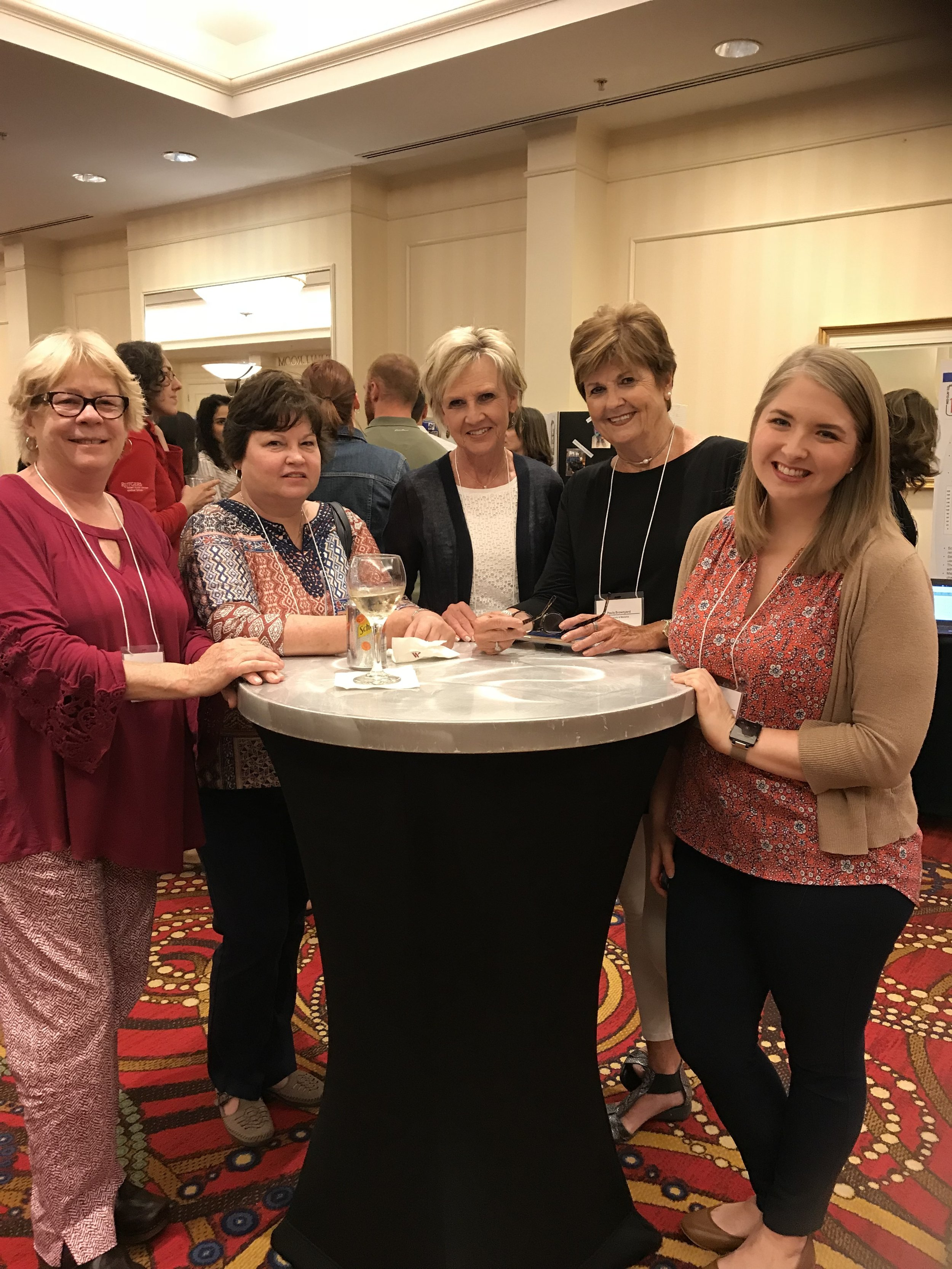 RTI2-B Team Members: Patty Outten, Cara Richardson, Sandra Harper, Paula Brownyard, and Shelby Cook