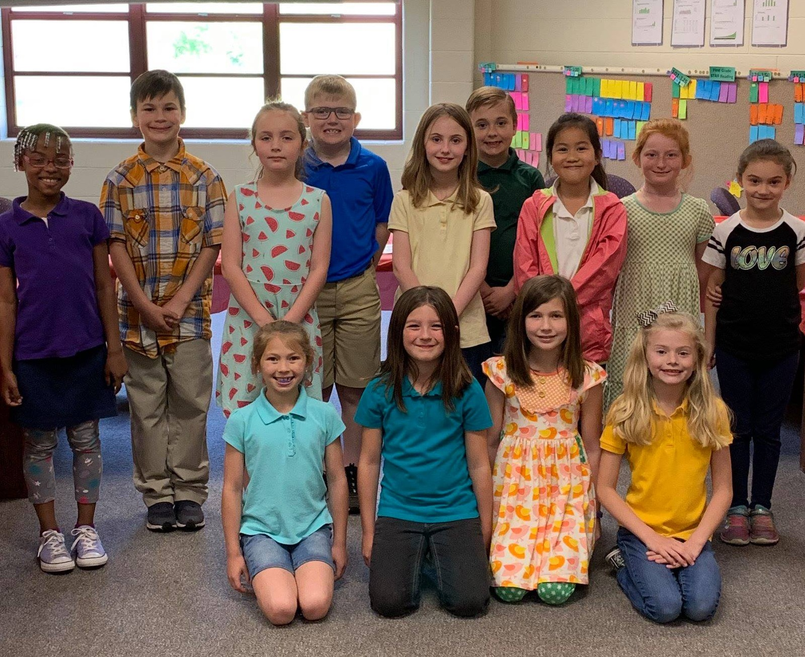Dyersburg Primary School's Student Leadership Team