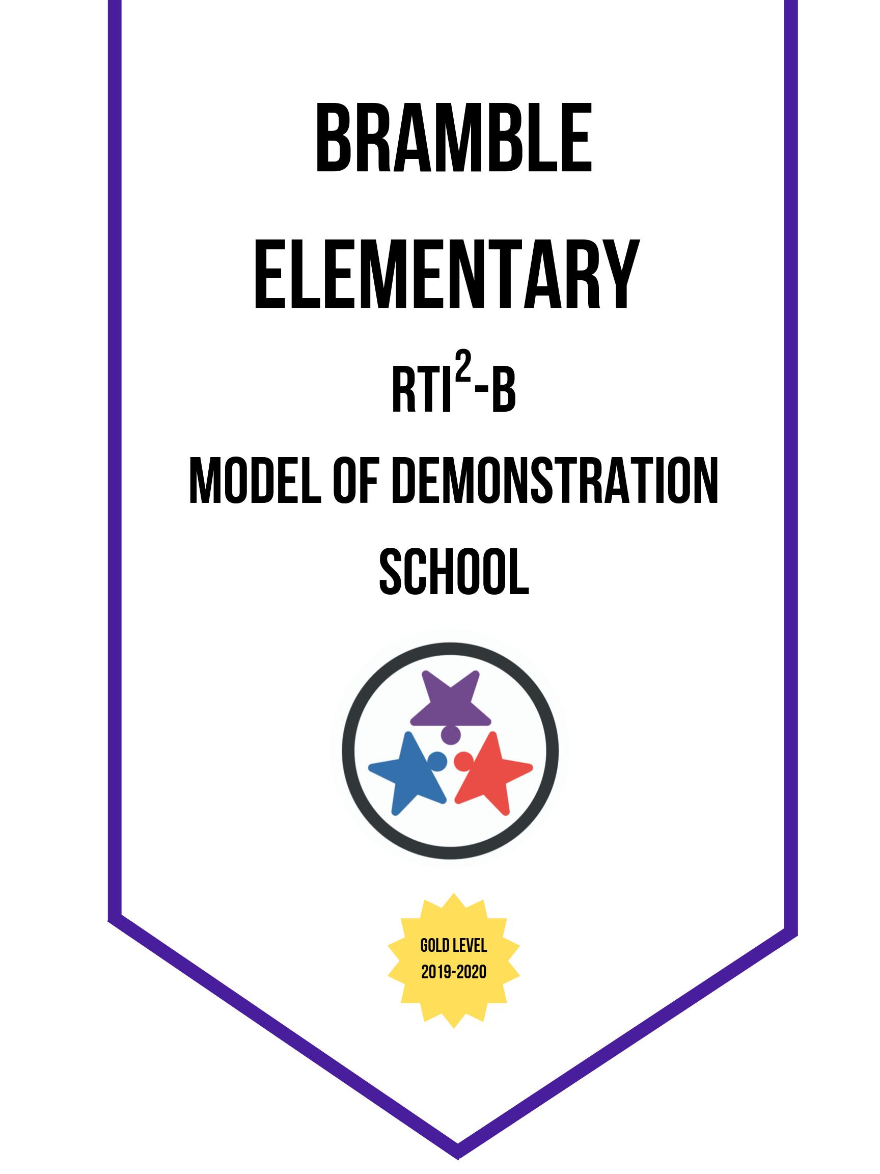 RTI2-B Model of Demonstration Banner