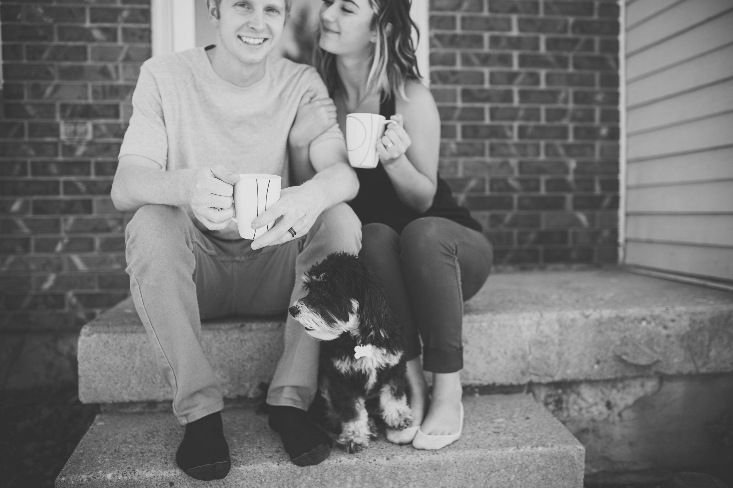 In our first year of marriage we have drank A LOT of coffee! Our favorite is the  Wilderness Blend  from  Daily Rise Coffee .