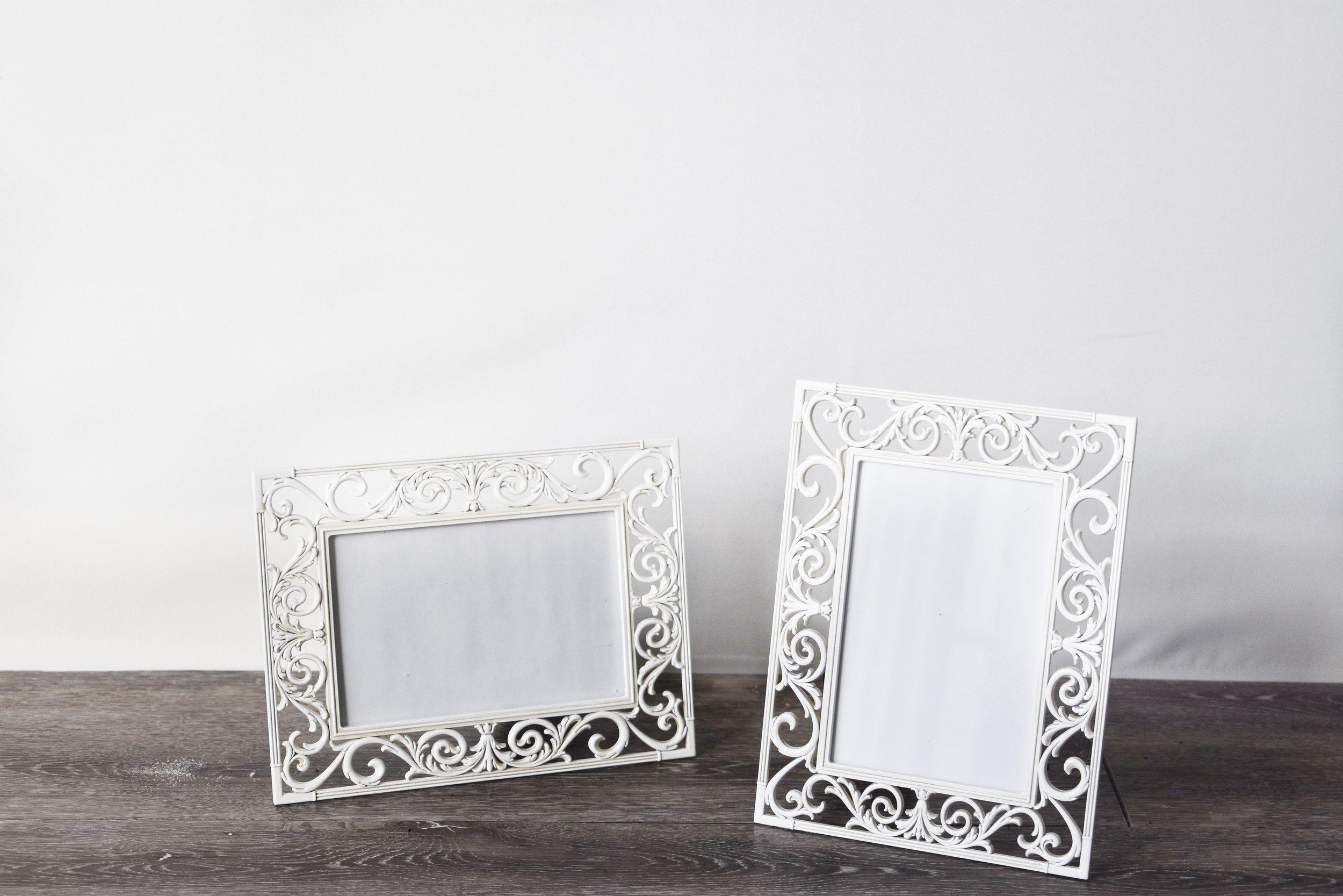 White Decorative Frames