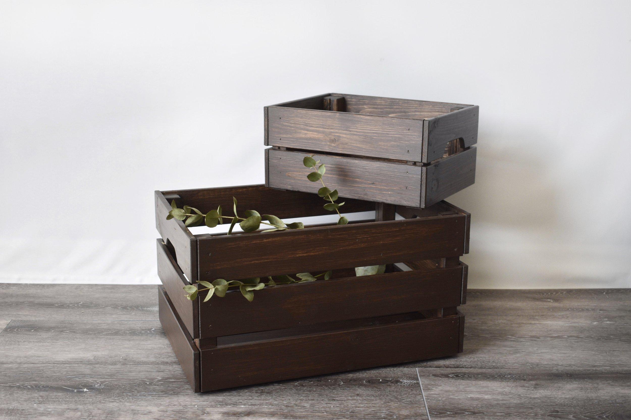 Mixed Wooden Crates