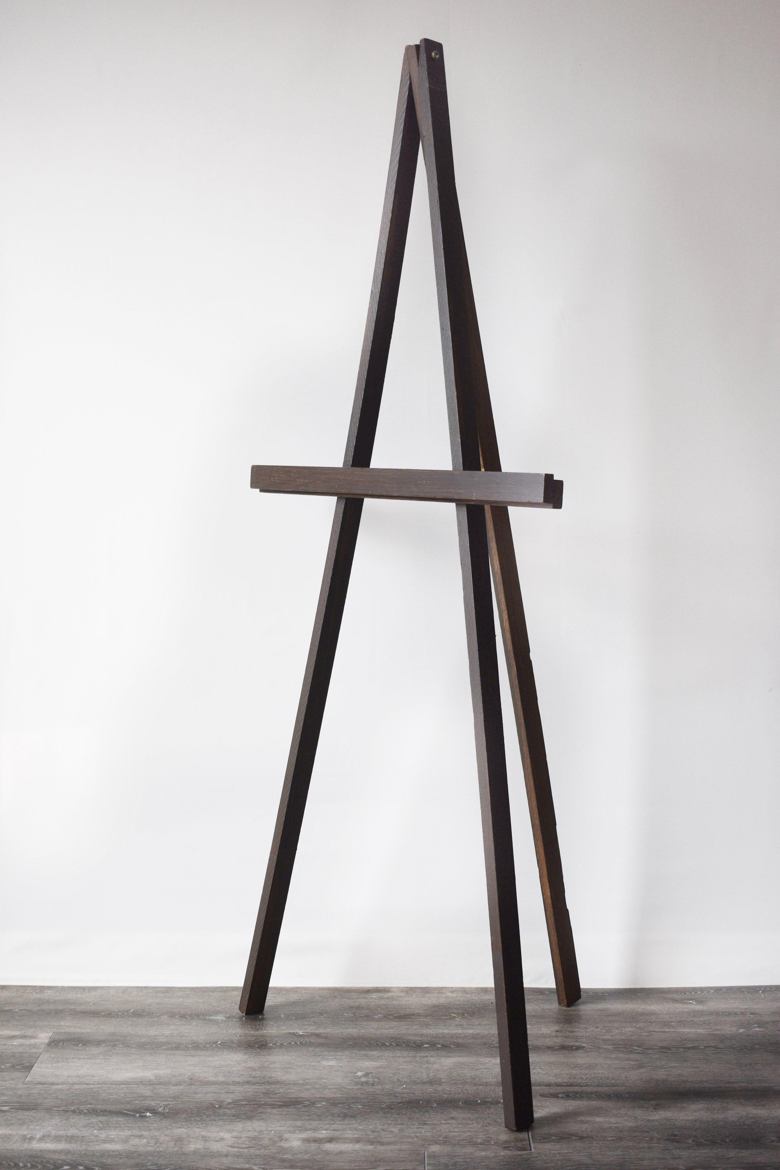 Dark Wooden Easel