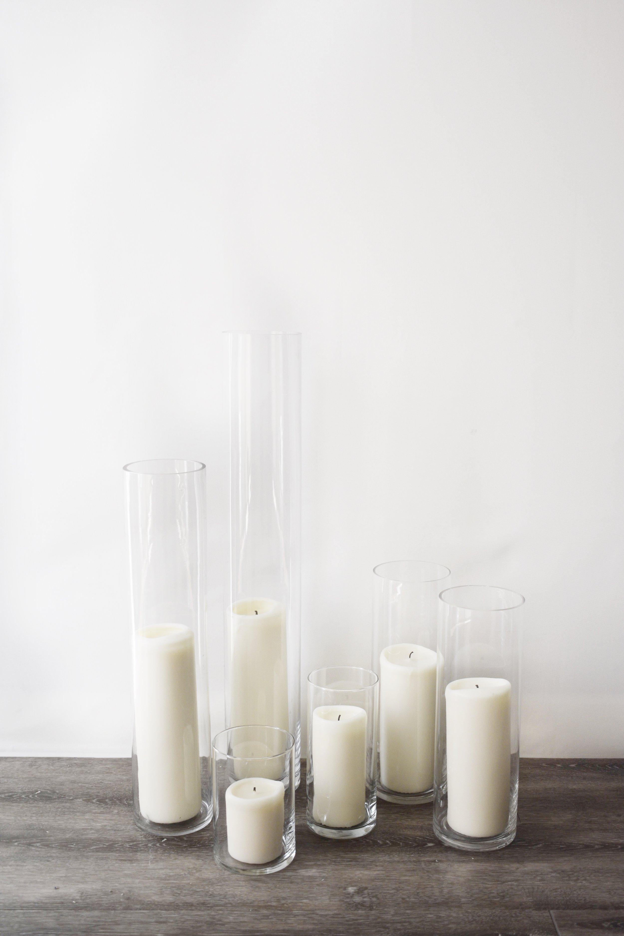 Assorted Pillar Candles
