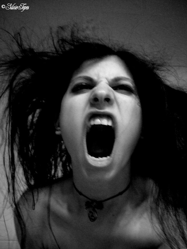 Photo: Screaming Rage by Silvie Tepes
