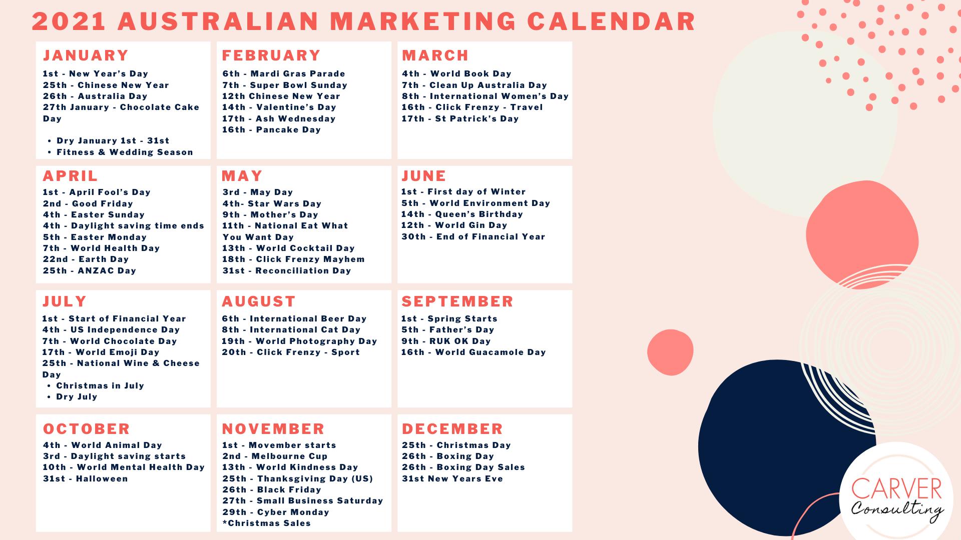 Carver+Consulting+2021+Calendar