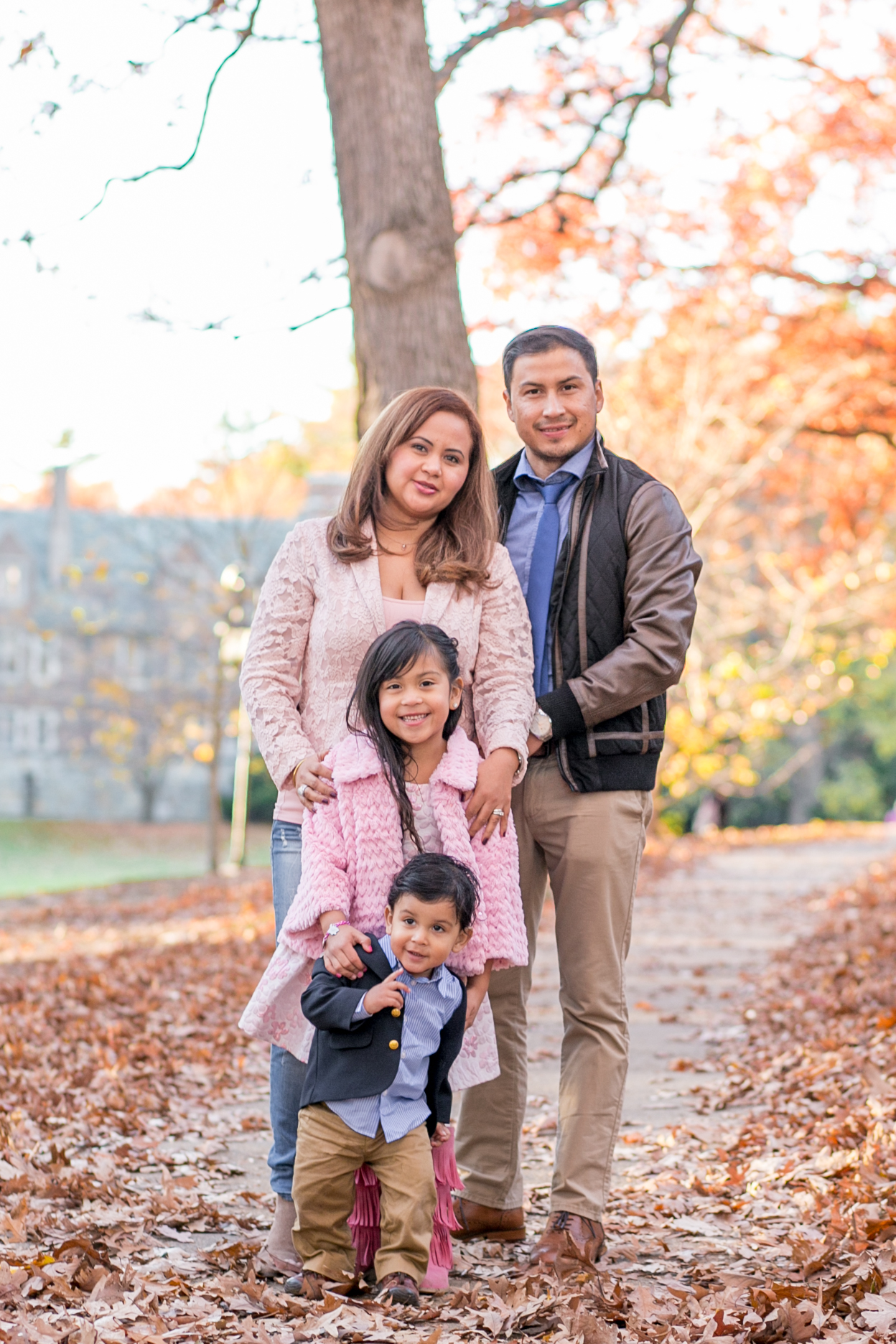 wellesley college fall family photos erica pezente