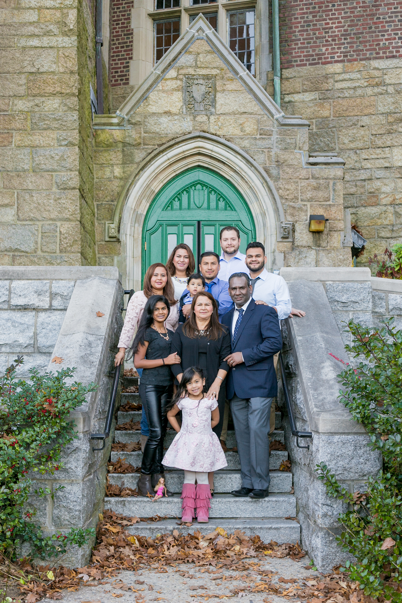 wellesley college fall family photos