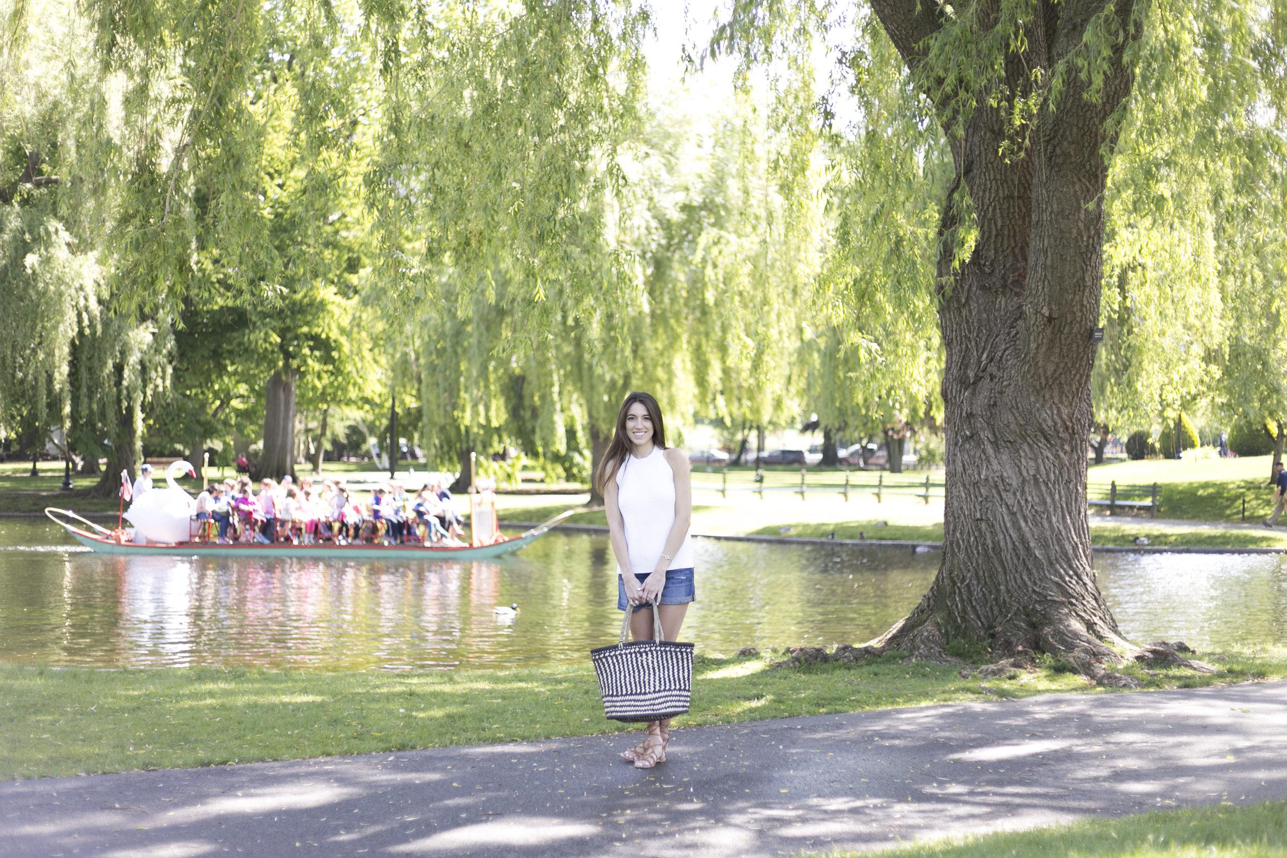 boston public garden photo shoot