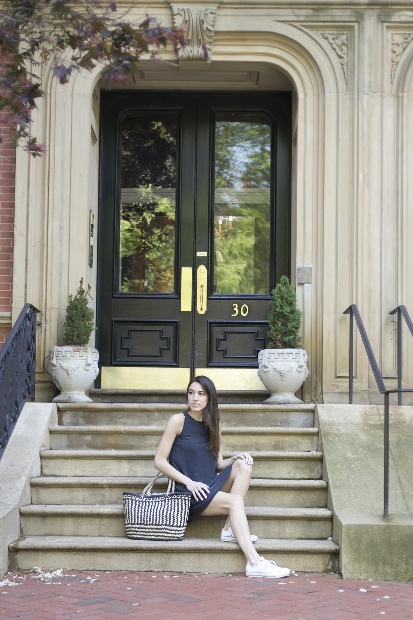 Beacon hill front door