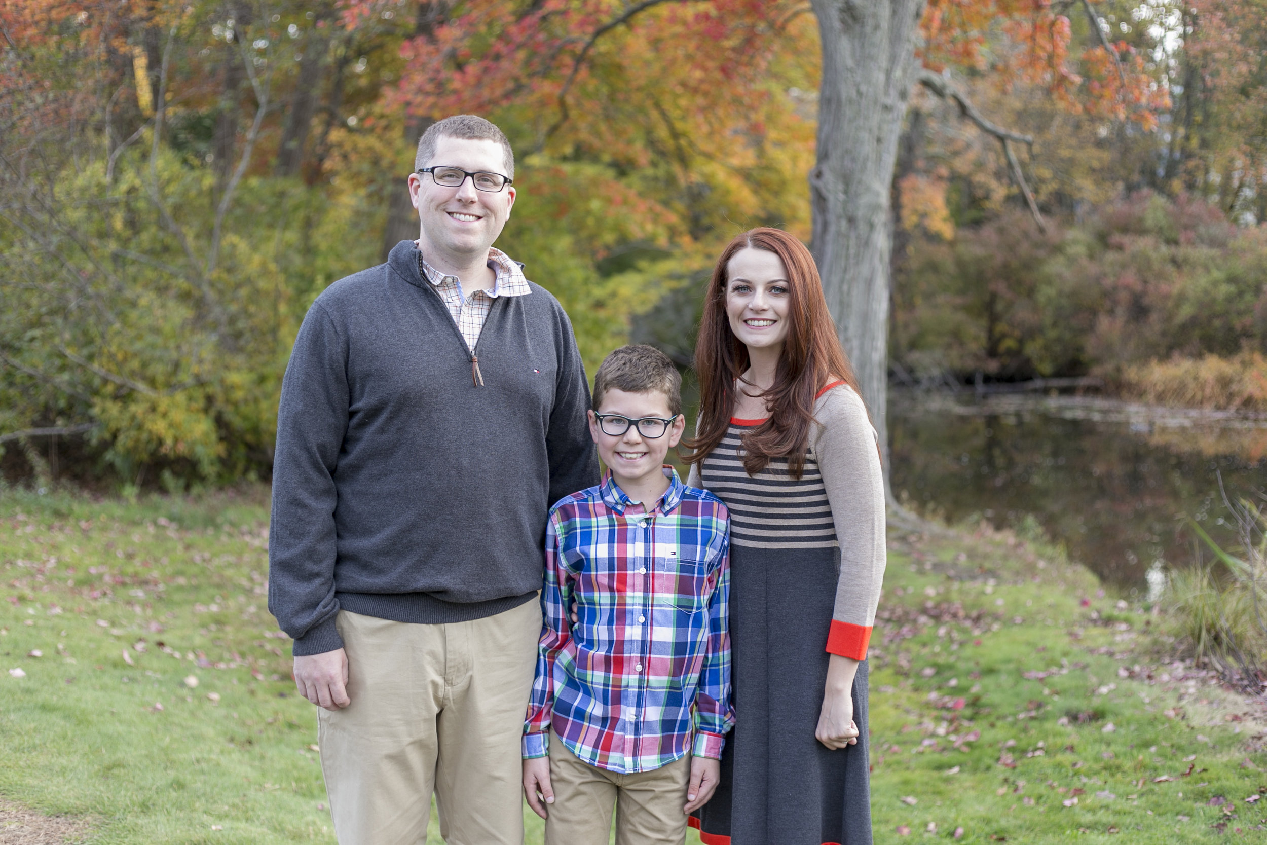 wellesley college fall family photo boston photographer