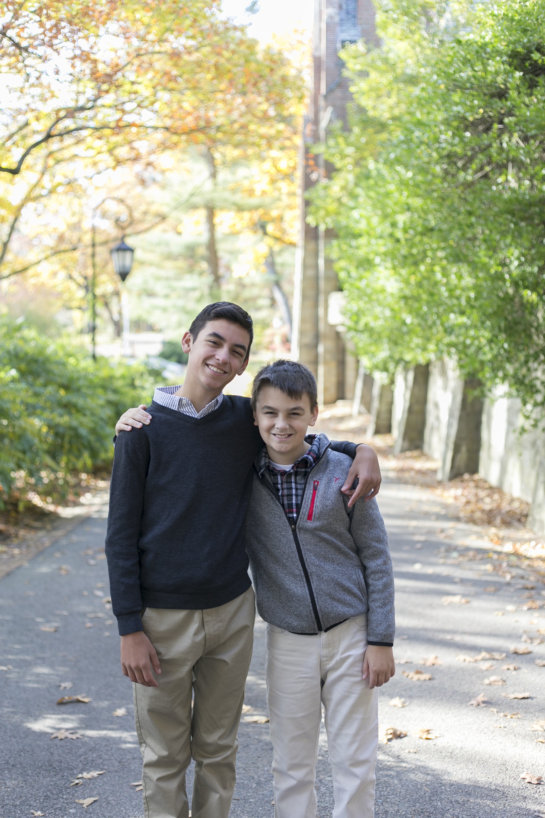 wellesley college fall family photos green hall