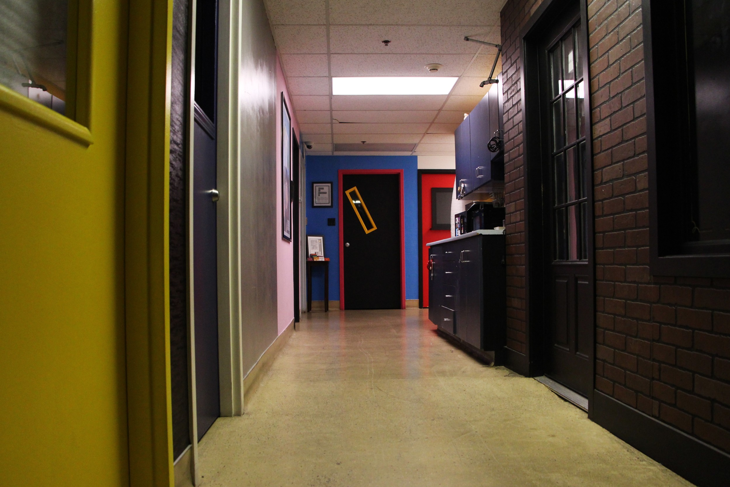 Hallway #2 Upstairs at Emergency Arts
