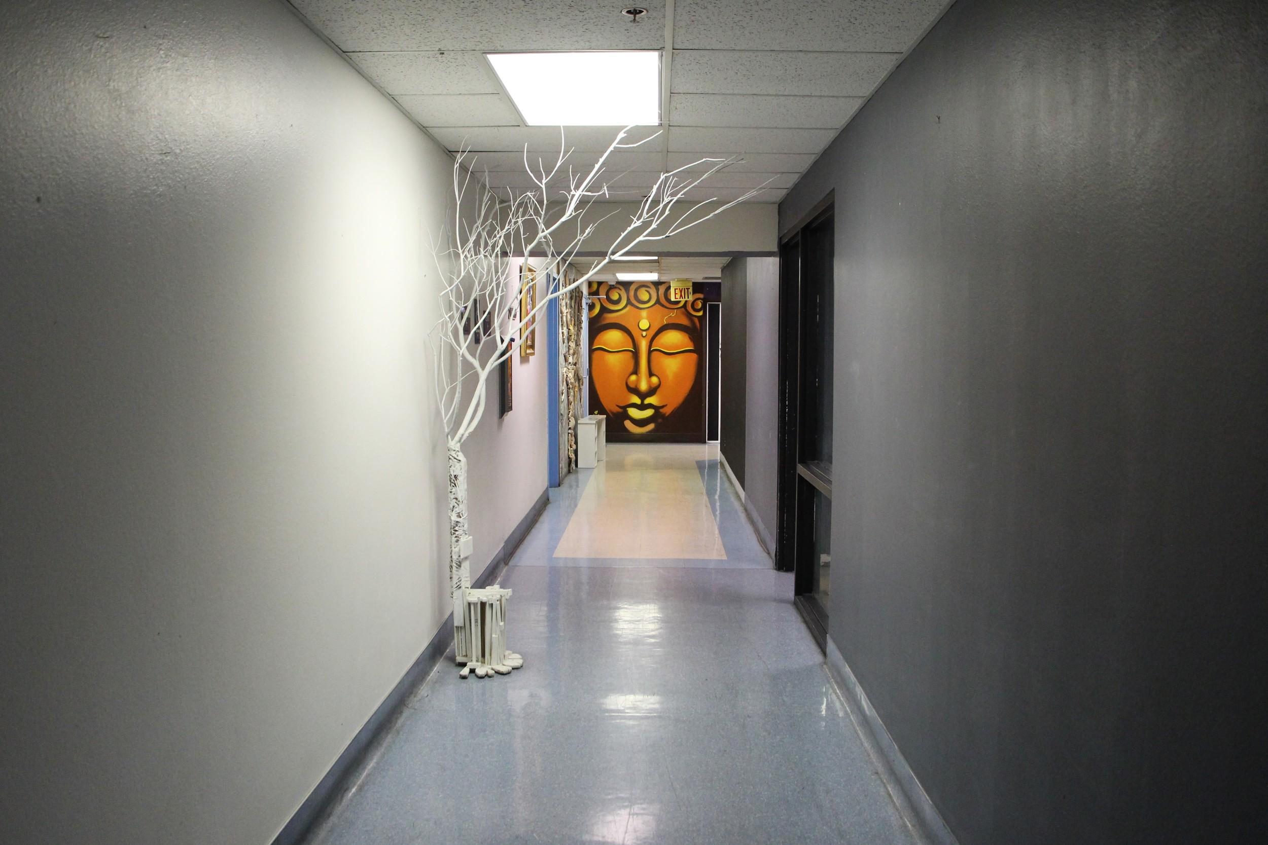 Favorite Hallway. Favorite art space.