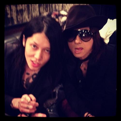 Kiyoharu and Miyavi