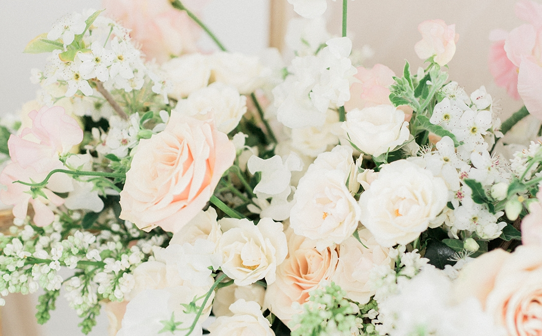 Lush. Unique. Always Fresh. - Our signature design style is light and airy with various depths and unique textures. We love to experiment with new foliages, berries, and blooms!