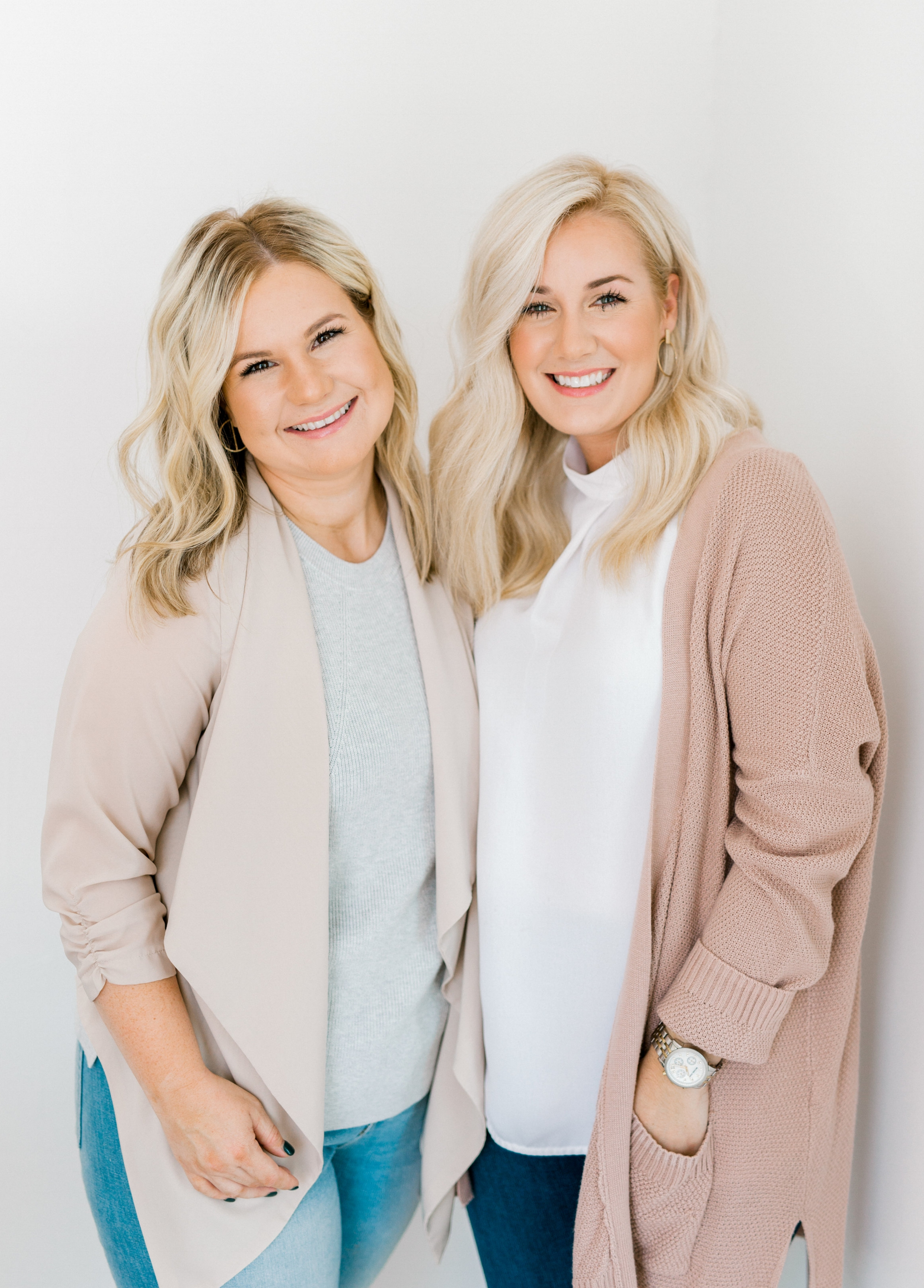 Sisters. Owners. Creative Directors. - We are sister-in-laws with complete opposite backgrounds and skill sets. Nonetheless, we have found this to be our biggest strength as a team of designers...