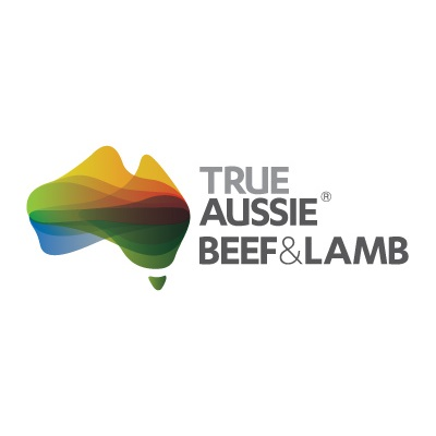 True Aussie Beef & Lamb   The True Aussie is a brand used to promote Australian red meat in export markets, representing Australian beef, veal, lamb and goatmeat. The True Aussie logos act as an overarching and consistent country of origin endorsement for Australian red meat products in worldwide markets. It represents Australia's unique environment and climate. The mark is contemporary without being overly corporate. The colour pallet represents the Australian landscape; the burnt orange and green of the land, bright yellow of the sun and blue of the sea. It's a mark that will engender trust in export producer products that use it.
