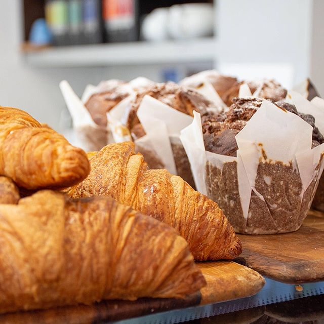 Why not start your Monday right with our fresh baked treats to go with your coffee? #fromagethecow