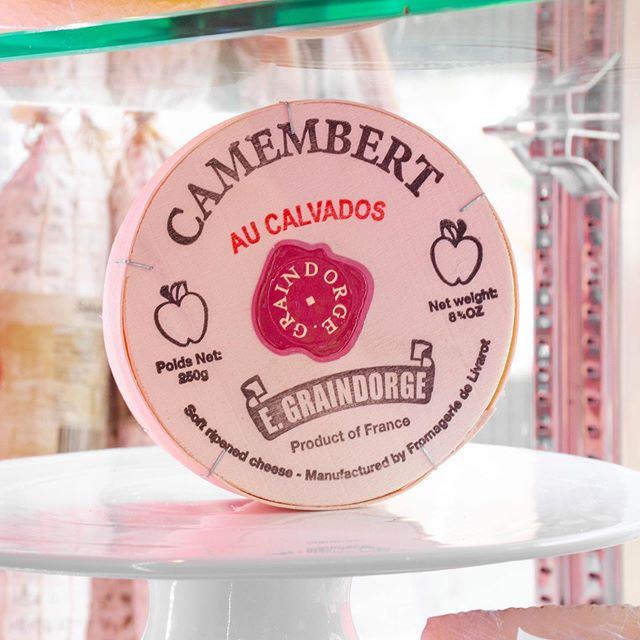 Cheese-y joke of the week! | What cheese do you use to coax a bear out of the woods with? Camembert! #fromagethecow #cheesejoke