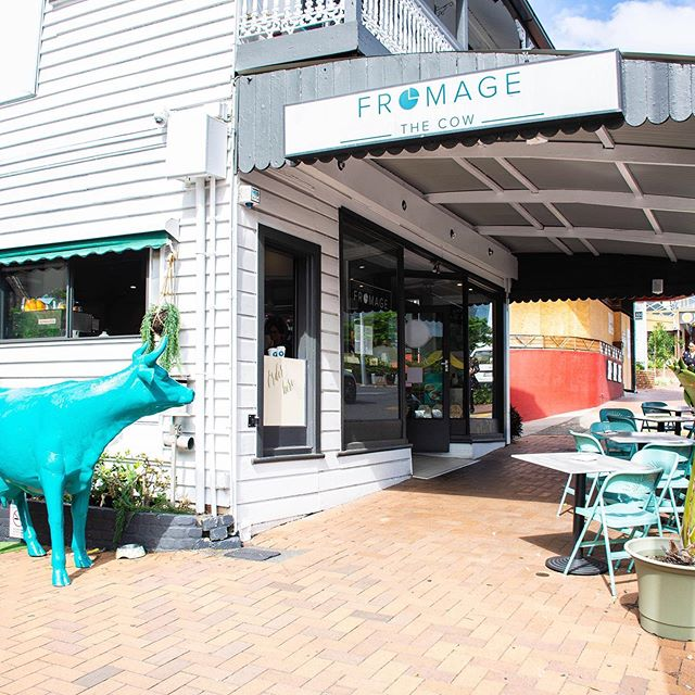 Dine with us at @fromagethecow! We're open tonight for dinner 🐮#fromagethecow