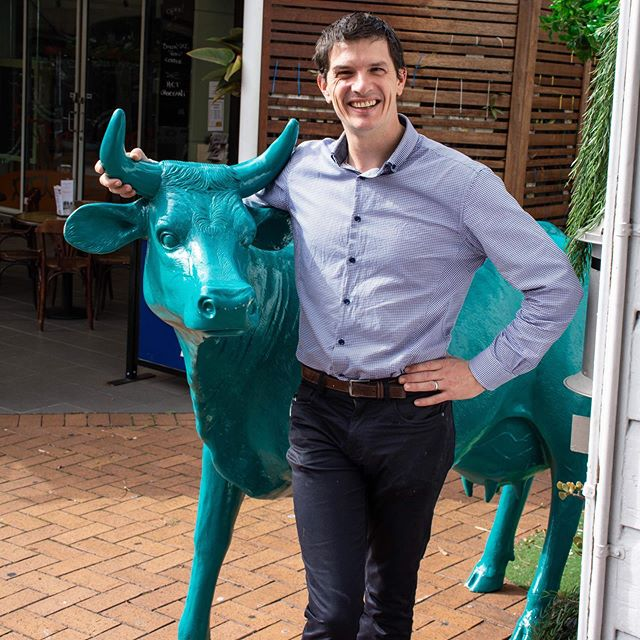 If you have dined at @fromagethecow, you would have met our Head Cheese, Tony! 🙌🐮 Tony manages the restaurant and ensures everyone is having a Gouda time! #fromagethecow