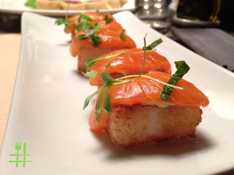 Salmon Crispy Rice