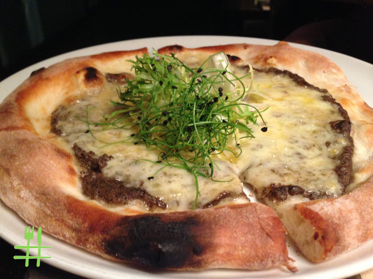 Black Truffle & Fontina Cheese Pizza