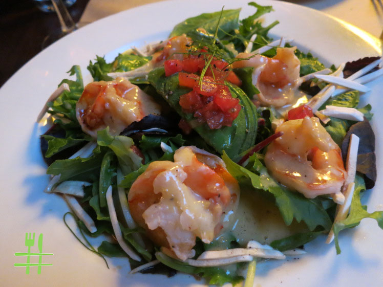 Steamed Shrimp Salad