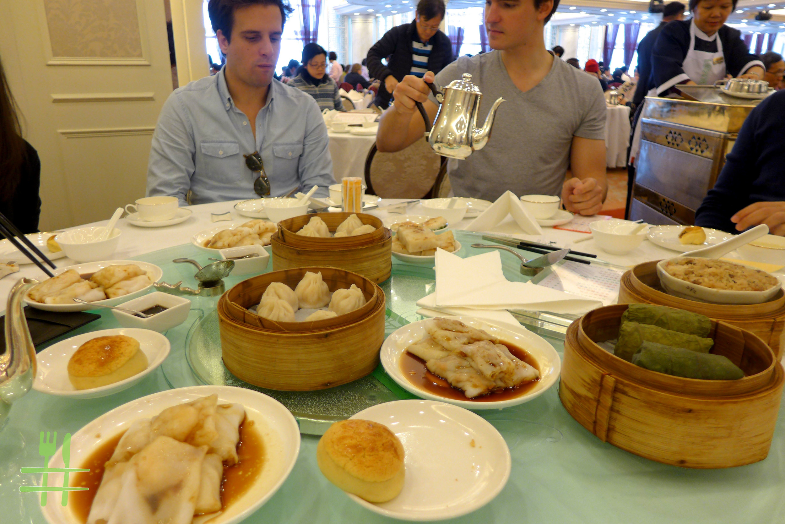 Dim Sum brunch at Maxim's Palace