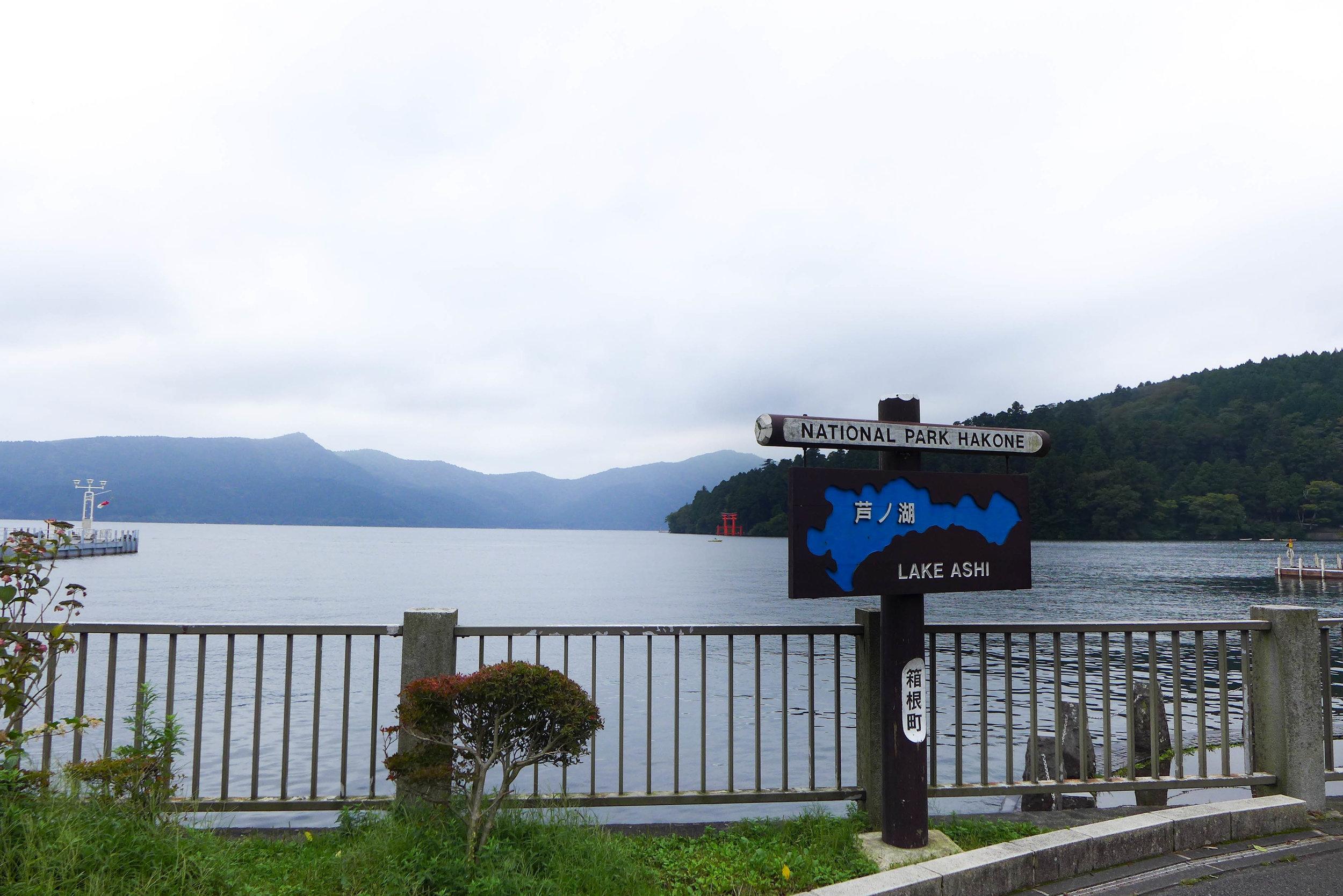 Lake Ashimoto, Hakone