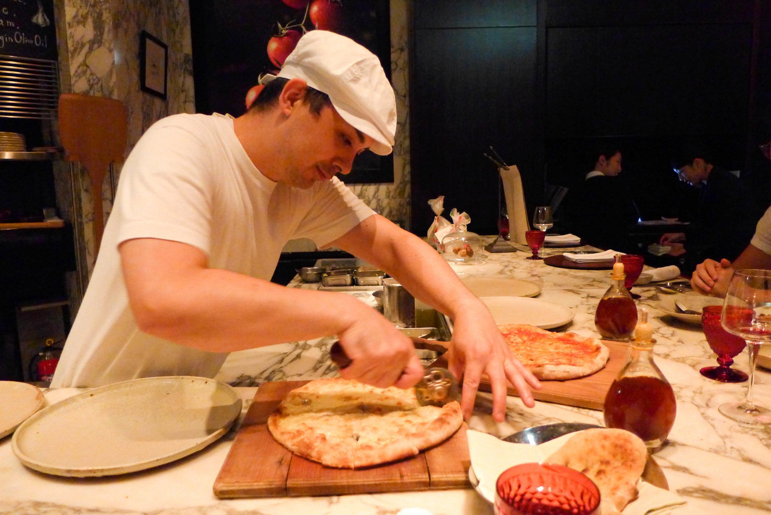 The Pizza Bar on 38th, Mandarin Oriental Tokyo