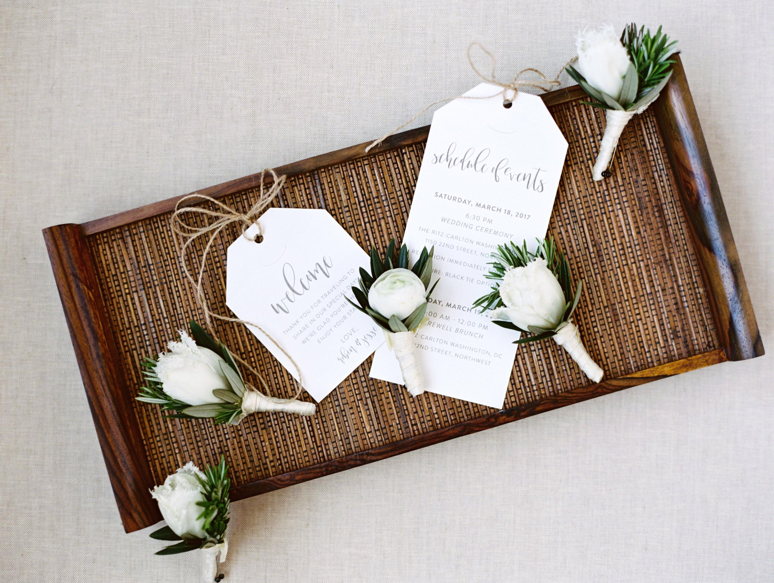 Restoration Hardware Inspired Welcome Notes