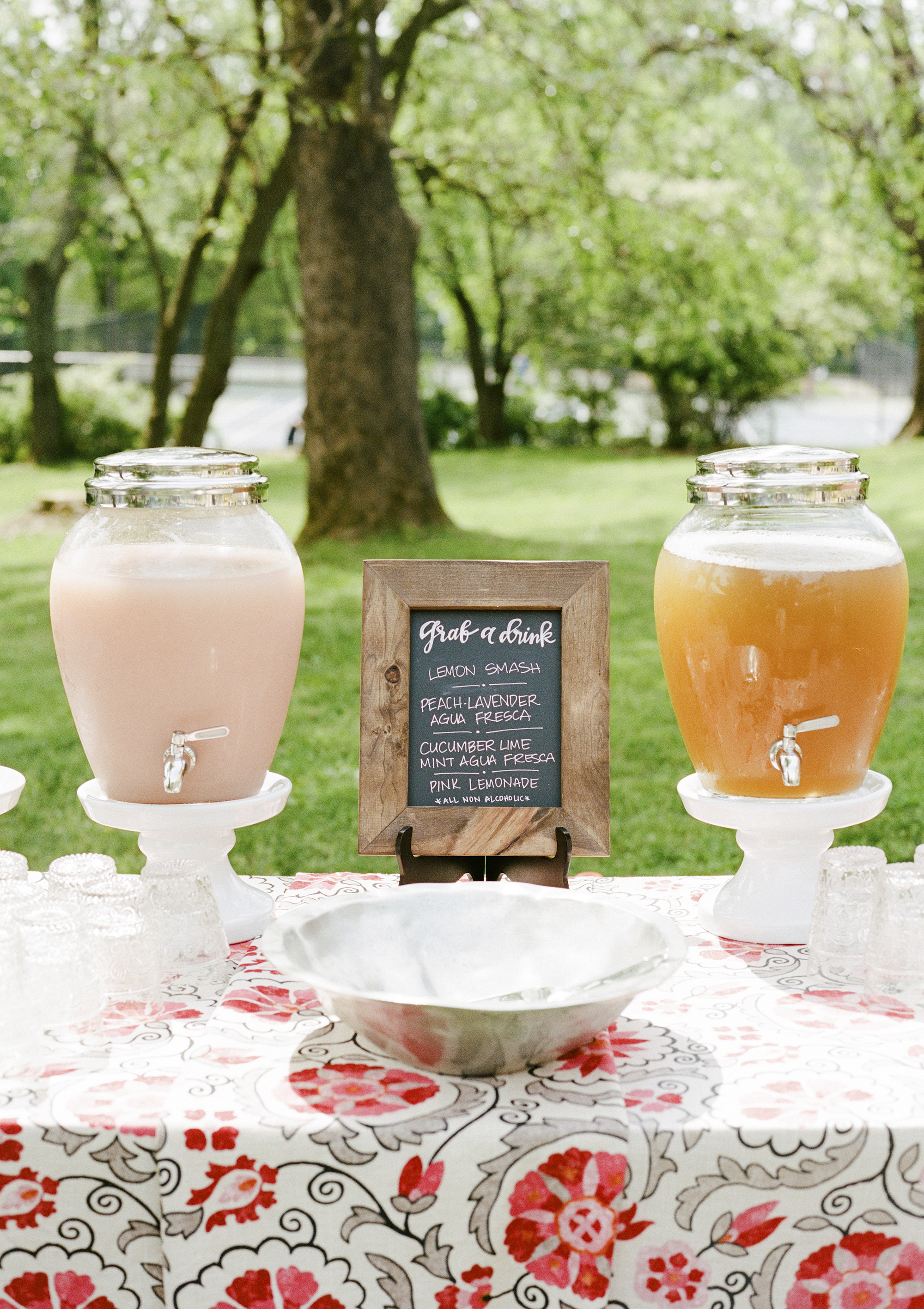 Boho First Birthday Party Lemonade Stand