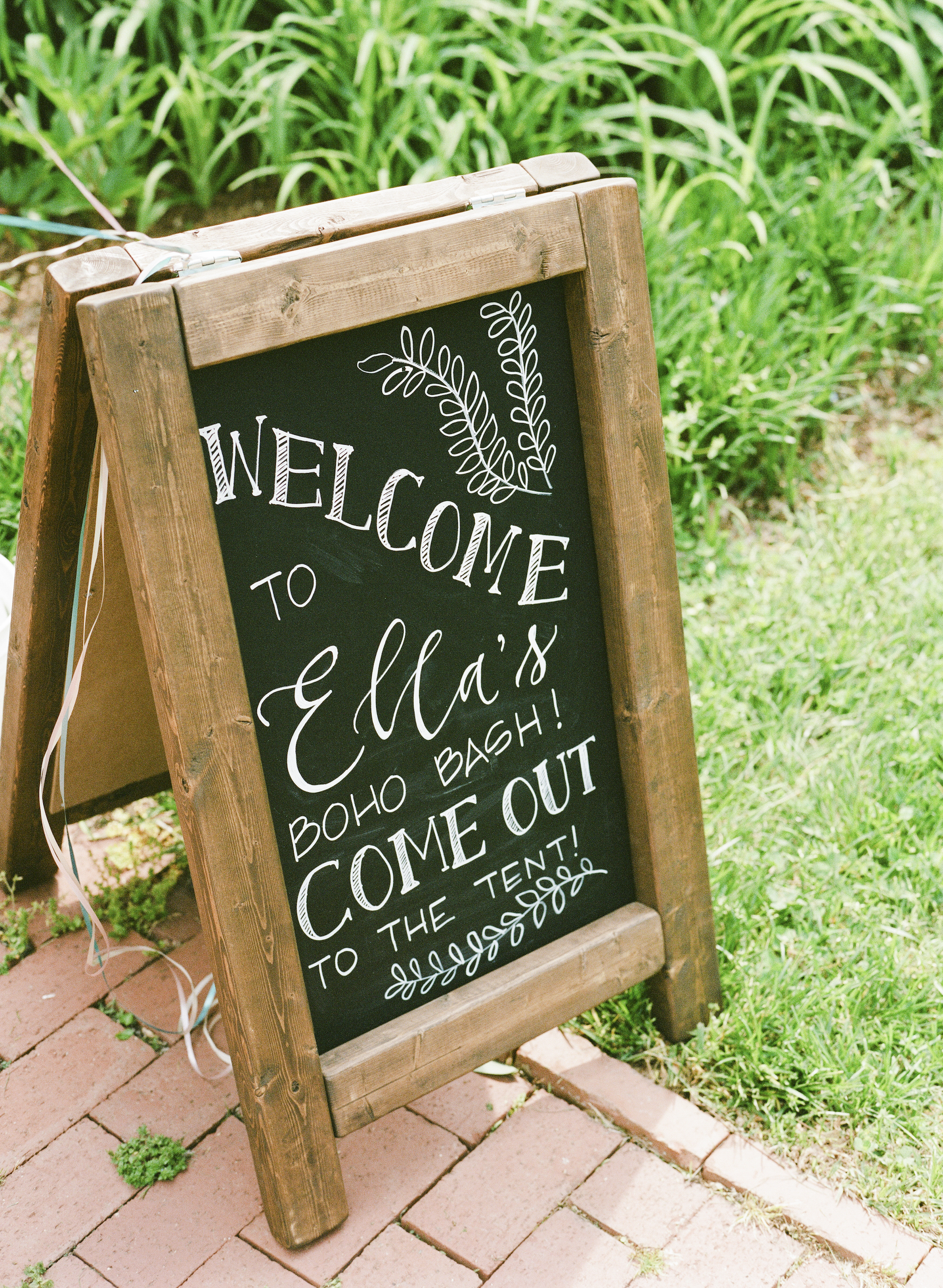Boho First Birthday Party Welcome Sign