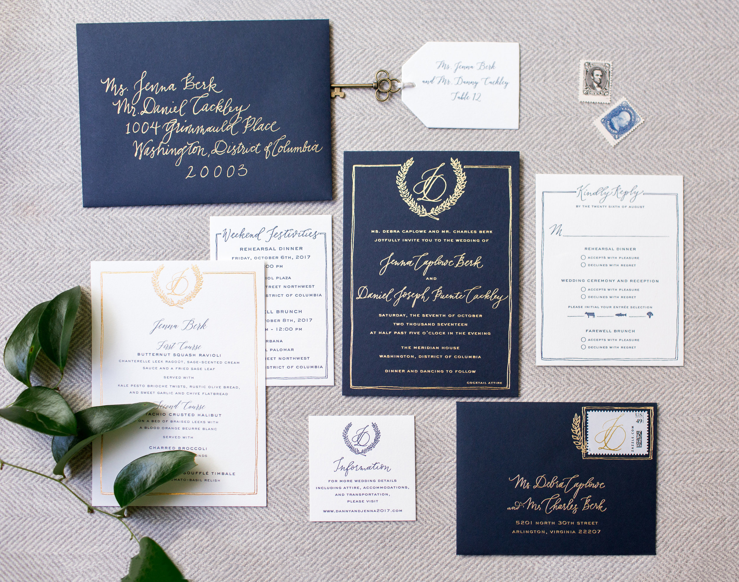 Secret Garden Invitation Suite