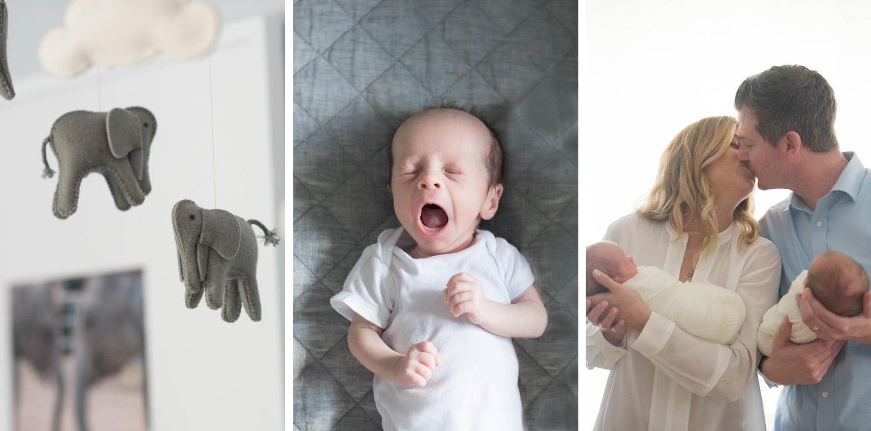 Saratoga Springs newborn baby family photographer