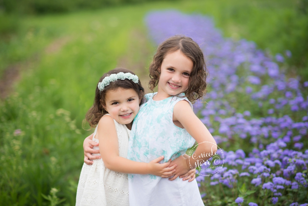 sisters on a farm rustic photo session