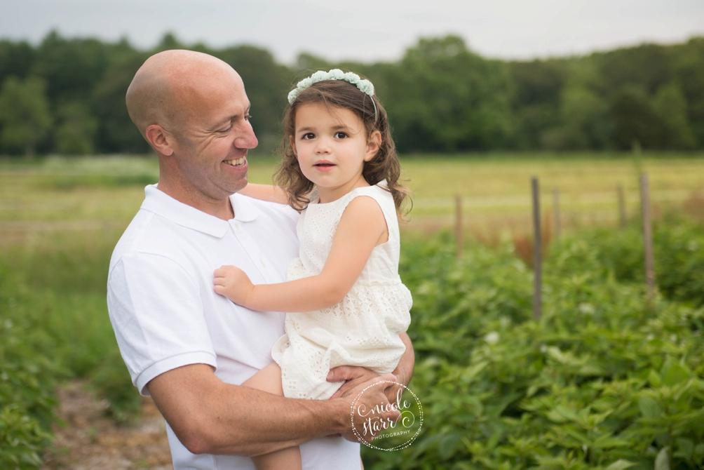 boston family session on a farm