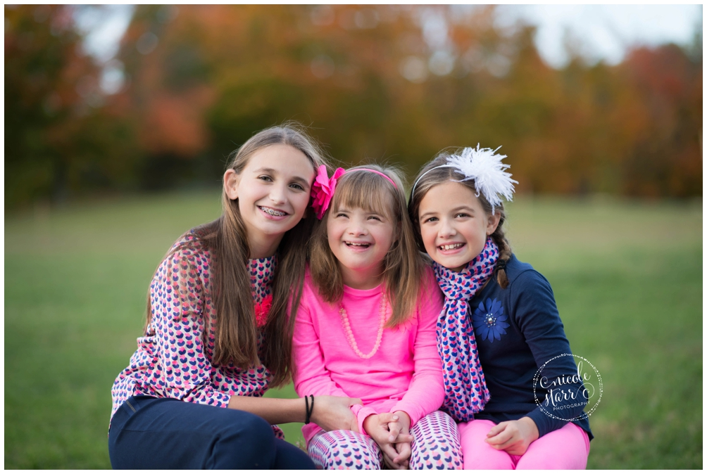 Boston photographer does photo sessions for local families with a child with Down syndrome