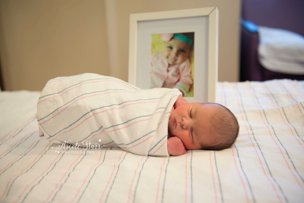 Upstate New York hospital newborn baby photographer