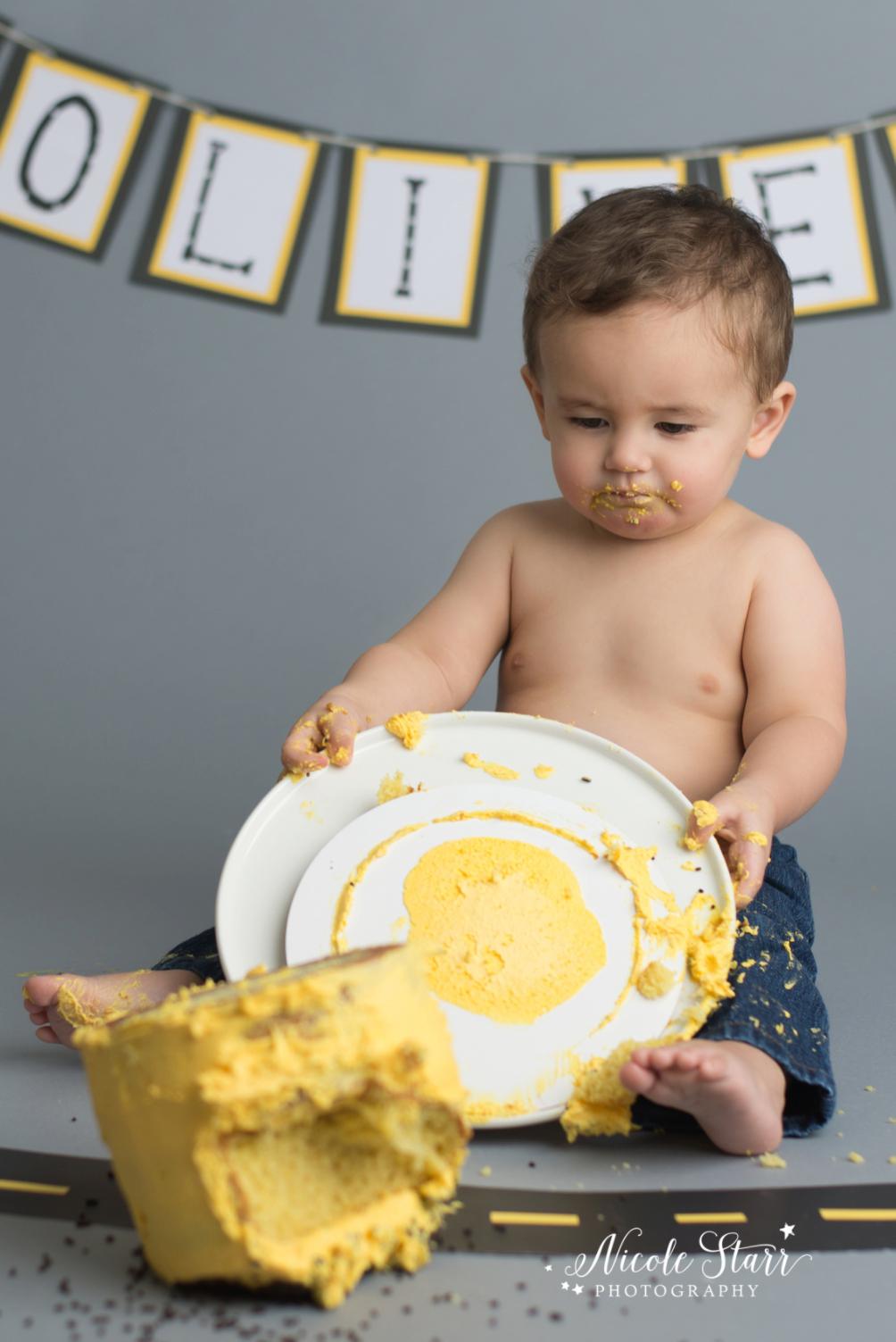 upstate new york saratoga albany cake smash first birthday baby photographer_0007.jpg