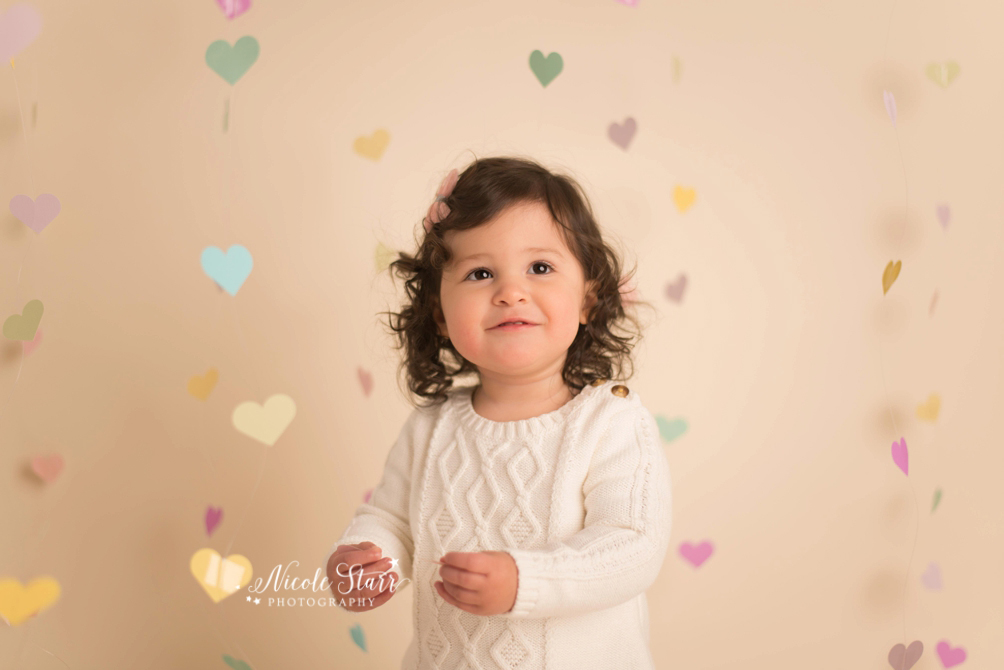 saratoga albany valentines day sessions with upstate NY baby photographer