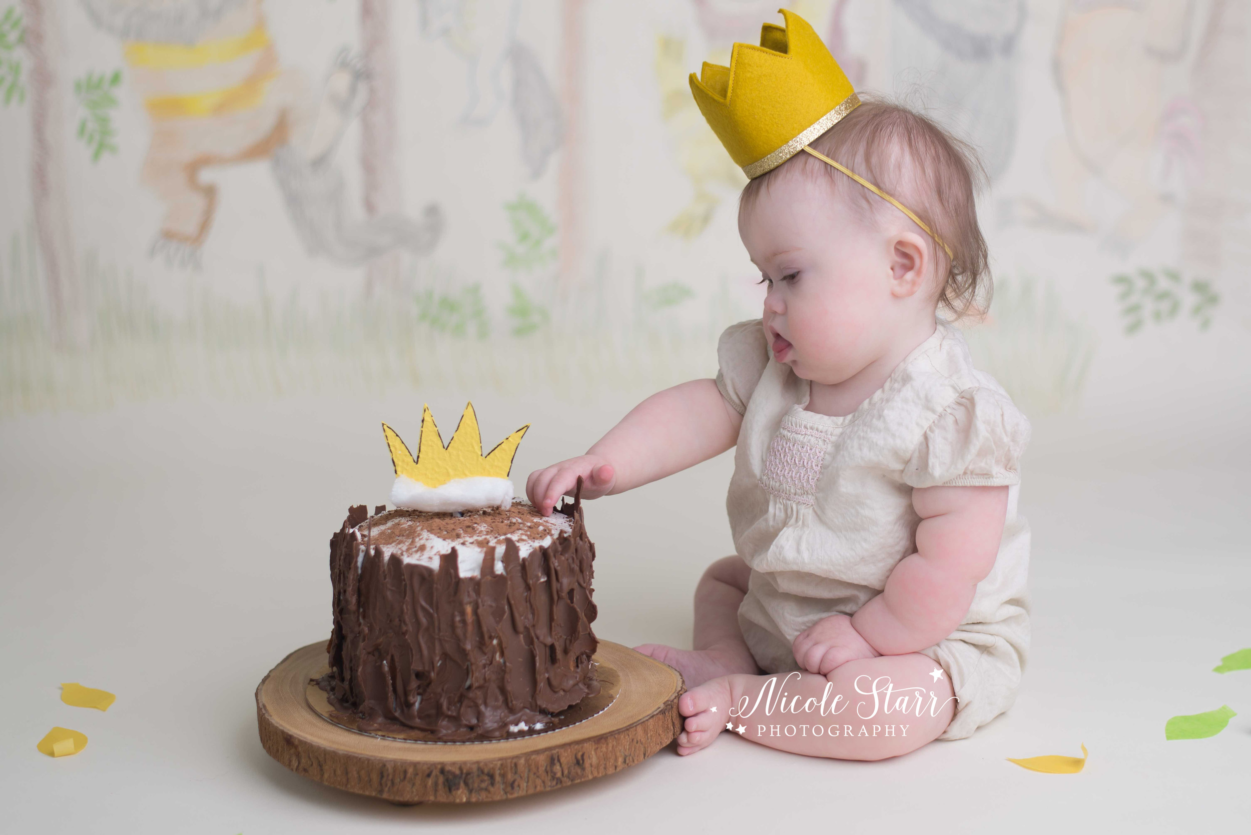saratoga springs baby cake smash photographer