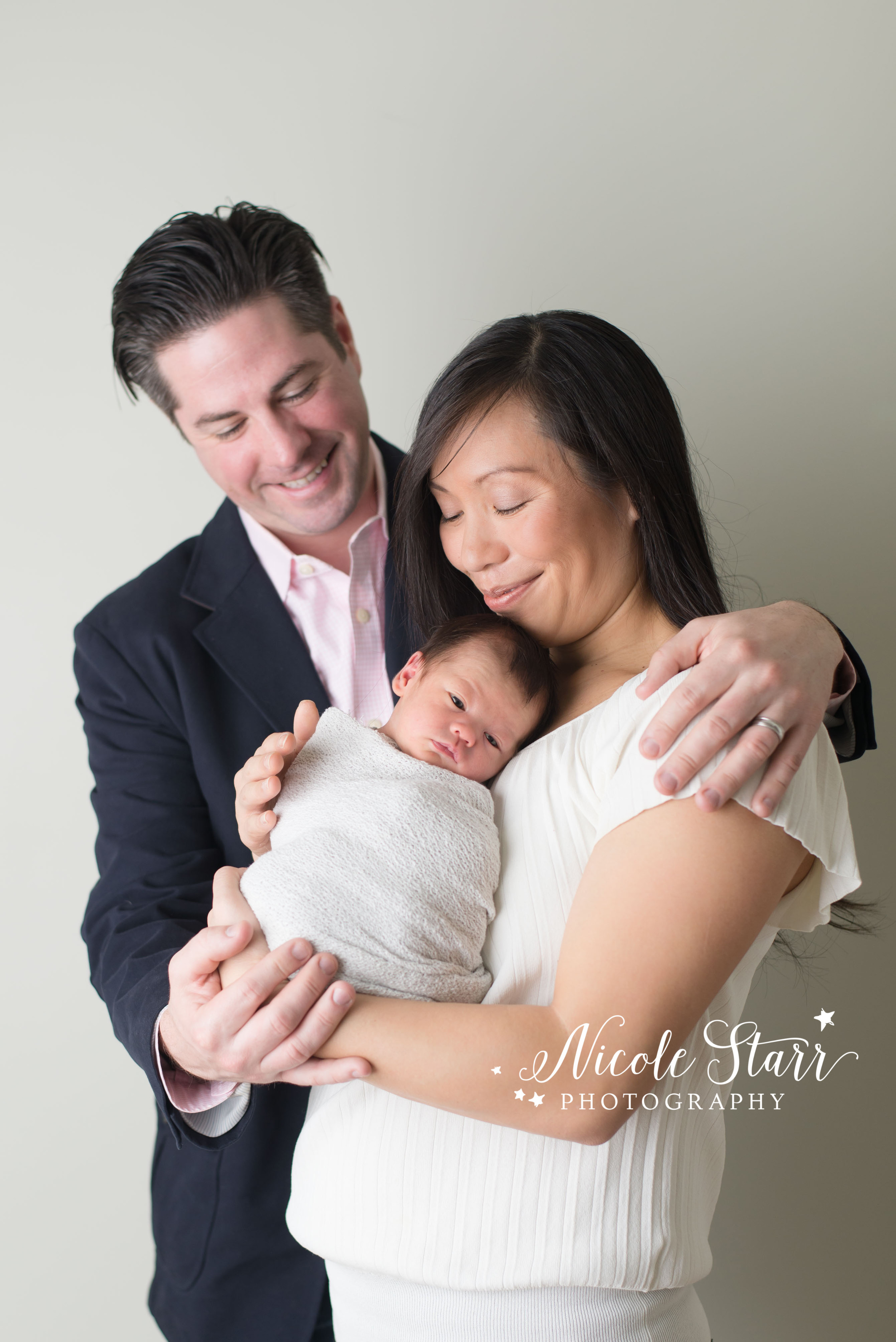 Family portrait with newborn photographer from saratoga springs, NY