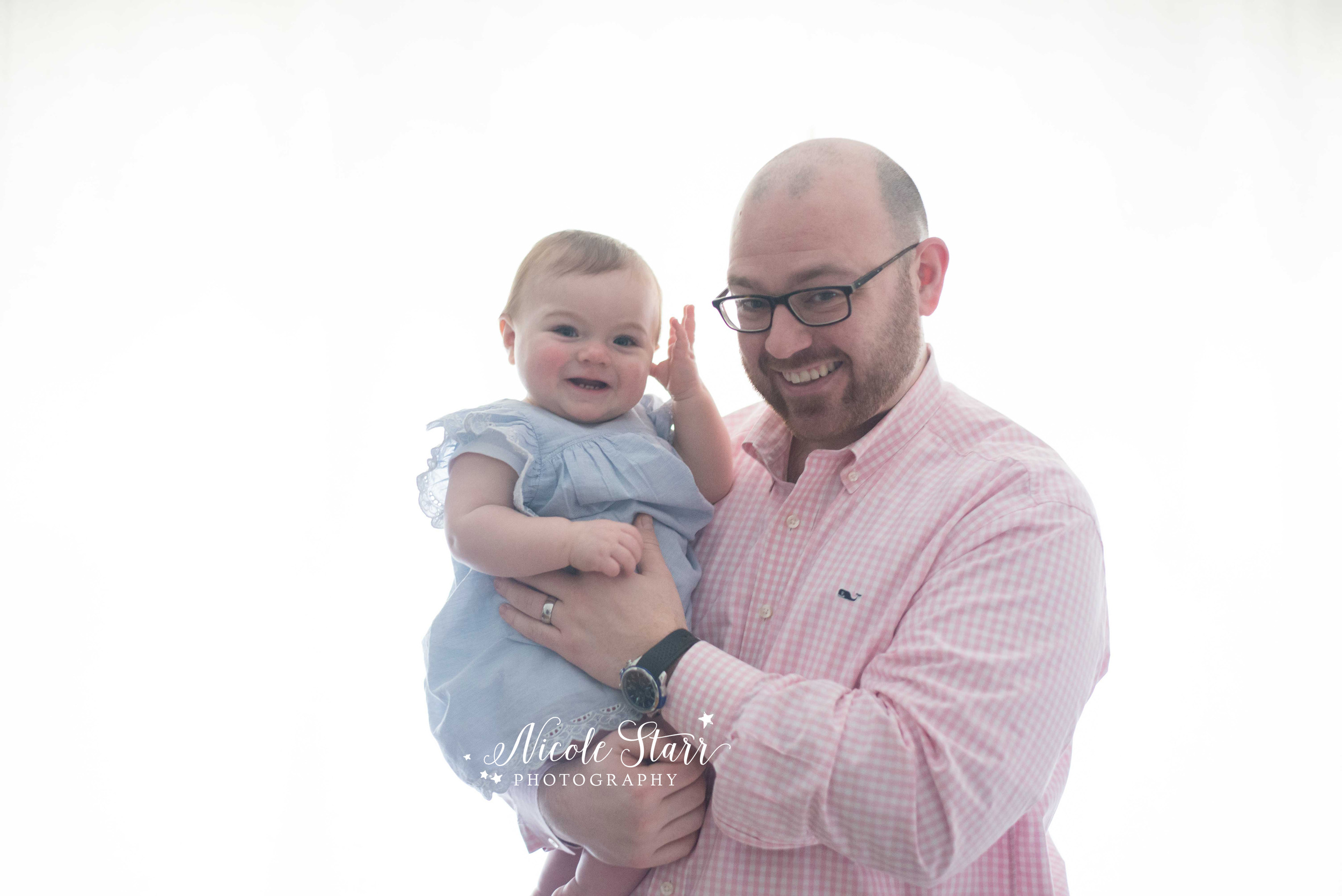 albany saratoga springs family photographer dad and baby