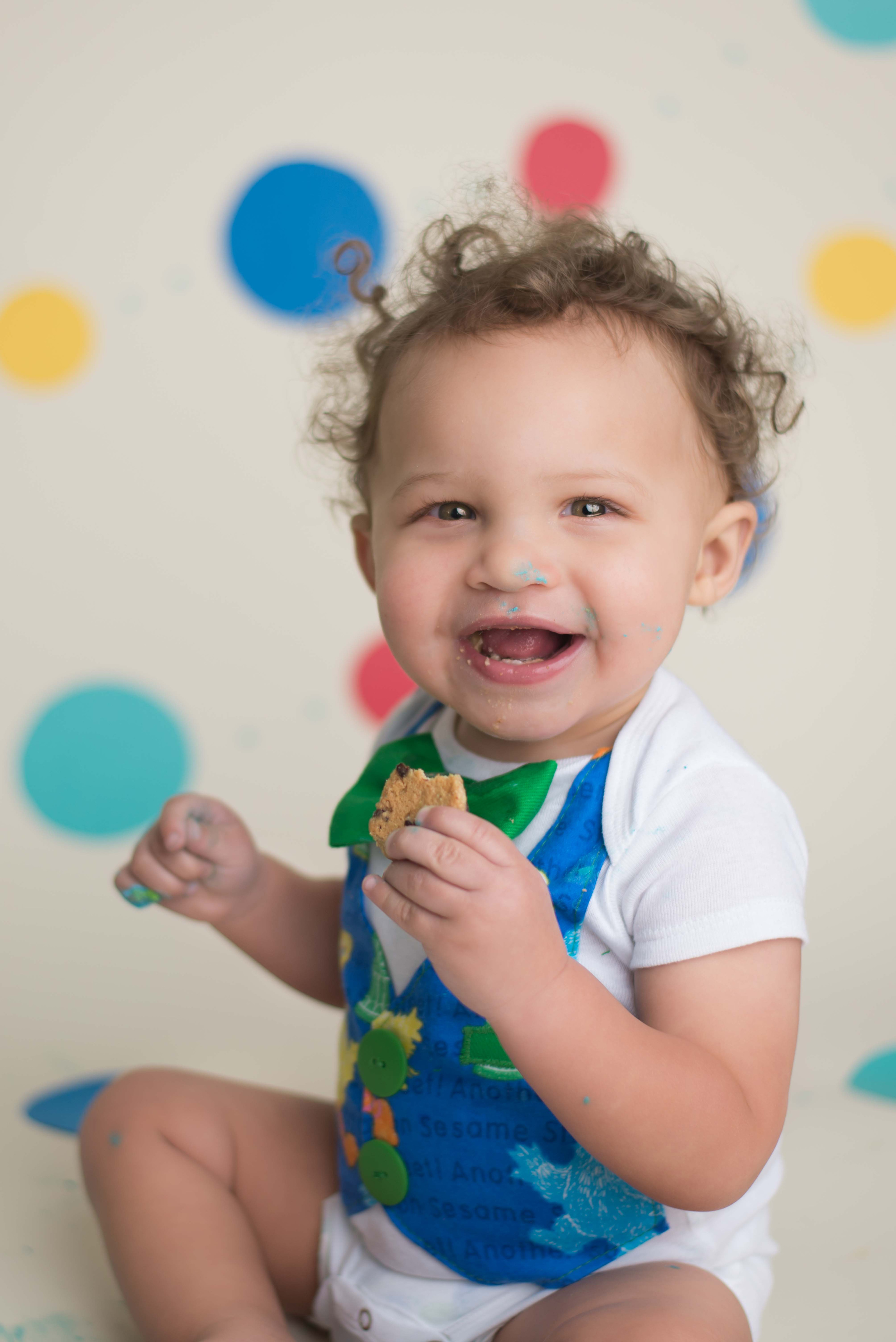 first birthday cake smash with sesame street and cookie monster.jpg